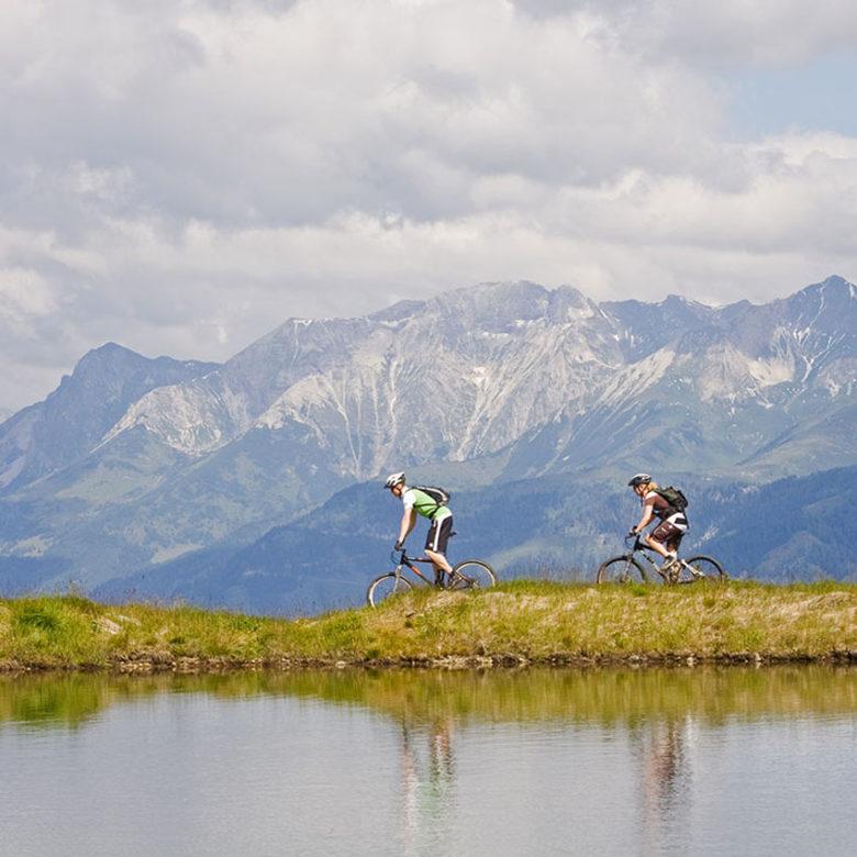 Wandern Maountainbiken Chalet Holiday Lungau